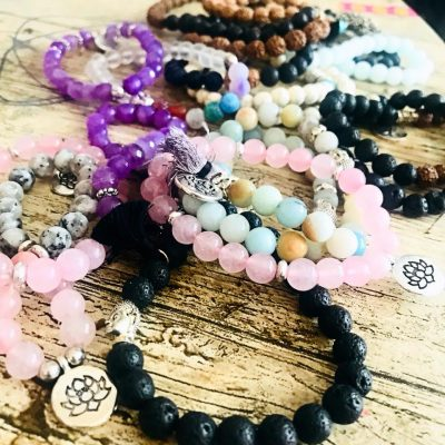 Laila Wellbeing Crystal Bracelets